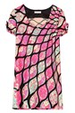 Pucci Wool Dress with Multicolored Print