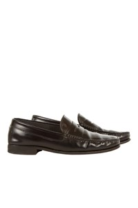 Tod's Citta Black Penny Loafers