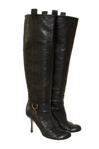 Dior Cannage Leather Boots