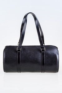 Louis Vuitton Epi Soufflot Black Bag