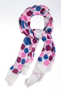 Marc By Marc Jacobs Polka Dot-Print Voile Scarf