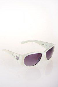 Miu Miu SMU13F White Acetate Sunglasses