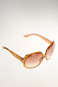 Dior Glossy 1 Honey Oversized Sunglasses
