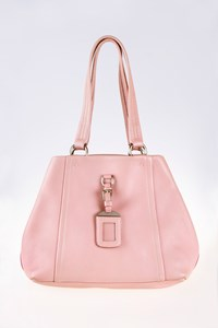 Prada Semitracolla Rosa Leather Shoulder Bag