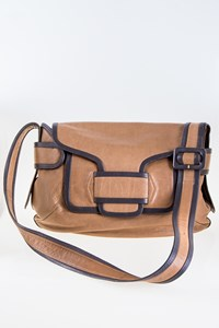 Pierre Hardy Bv01 Two-Tone Leather Corss-Body Bag