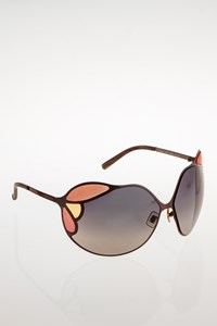 Miu Miu SMU66H Butterfly Metallic Sunglasses
