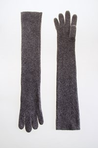 Club Monaco Grey Cashmere Long Gloves
