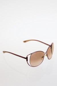 Tom Ford TF155 Purple Metal Frame Sunglasses