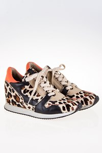 Ash Dean Bis Animal Print Pony Skin Sneakers