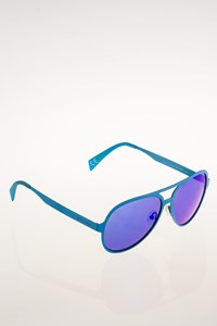 Italia Independent I-Metal 2.0 021/027 Blue Aviator Sunglasses