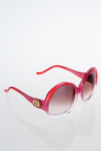 Balenciaga BAL0003/N/S Red Graduated Acetate Sunglasses