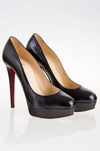 Christian Louboutin Bianca Black Pumps / Size: 39.5 - Fit: True to Size