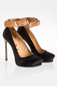 Lanvin Ermin Satin Pumps / Size: 40 - Fit: True to Size