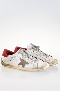 Golden Goose Sstar Sneakers / Size: 40 - Fit: 40.5