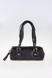 Kate Spade Black Leather Small Shoulder Bag with Straps