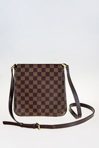 Louis Vuitton Damier Canvas Musette Salsa Messenger Bag