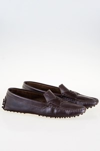Tod's Dark Brown Loafers / Size: 39 - Fit: True to Size