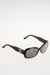 Chanel 5102 C501/87 Black Acetate Sunglasses