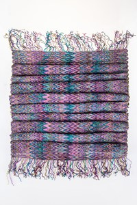 M Missoni Multicoloured Chenille Zig Zag Printed Scarf