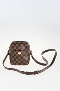 Louis Vuitton Damier Ebene Rift Canvas Cross-body Bag