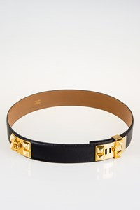 Hermès Collier de Chien Leather Belt