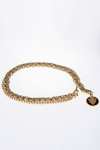 Gucci Hysteria Gold Chain Belt with Charm