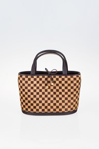 Louis Vuitton Limited Edition Damier Sauvage Impala Bag