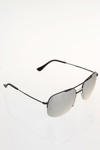 Celia Kritharioti BS59 Black Metal Sunglasses