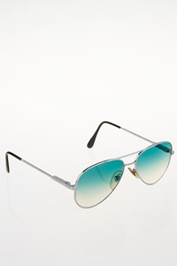 Cutler And Gross 0494 Silver Aviator Sunglasses