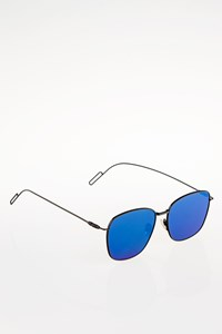 Jak&Jil Metal Blue Mirror-Effect Sunglasses