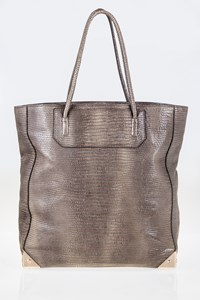 Alexander Wang Prisma Lizard Embossed Tote Bag