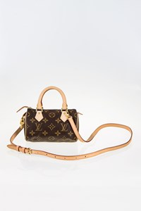 Louis Vuitton Monogram Canvas Mini HL Tote Bag with Shoulder Strap