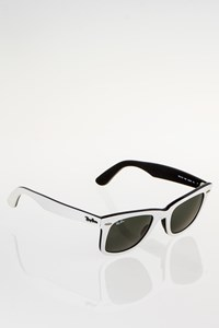 Ray Ban RB2140 956 Original Wayfarer White Acetate Sunglasses