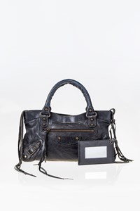 Balenciaga Classic First Black Tote Bag