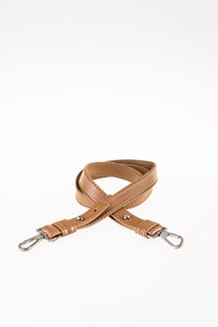 Furla Tabac-Coloured Leather Bag Strap