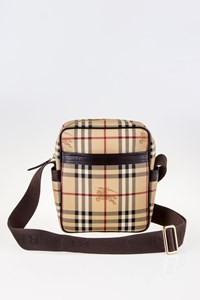 Burberry Haymarket Check Wardour Crossbody Bag