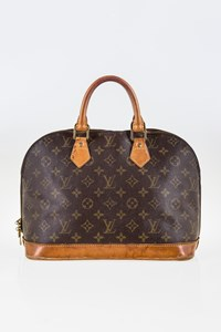 Louis Vuitton Monogram Canvas Alma PM Tote Bag