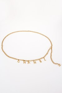 Chanel CC Golden Chain Belt with Charms