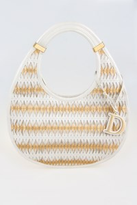 Diorita Contrast Twist Hobo Bag