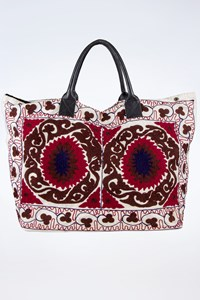 No Brand Handmade Embroidered Oversized Tote Bag