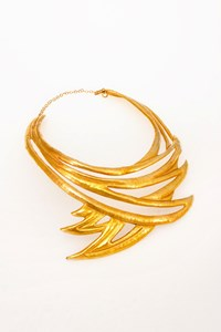 Zoe Keletsekis Handmade Gold-Plated Necklace