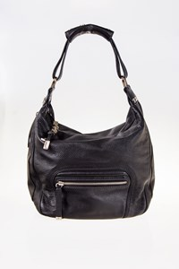 Tod's Mercer Black Leather Shoulder Bag