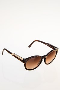 Stella McCartney SM4028 Brown Tortoise Shell Acetate Sunglasses