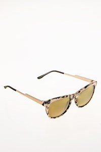 Stella McCartney SM4048 Tortoise Shell Acetate Sunglasses with Metallic Arms