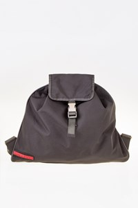 Prada Sport Anthracite Grey Nylon Backpack Bag