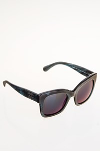 Chanel Square Fall 5357 Smoke-Effect Sunglasses