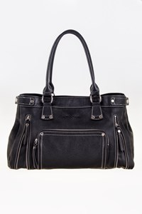 Longchamp Black Rodeo Luxe Shoulder Bag