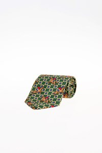 Burberry Multicoloured Silk Printed Tie