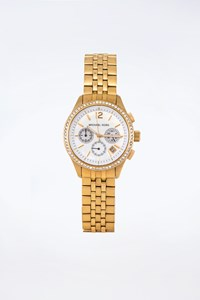 Michael Kors MK 5019 Mother Of Pearl Gold-Plated Watch