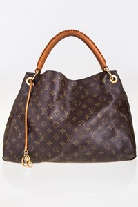 Louis Vuitton Artsy MM Monogram Canvas Shoulder Bag